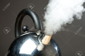 7217519-boiling-kettle-with-dense-steam-Stock-Photo