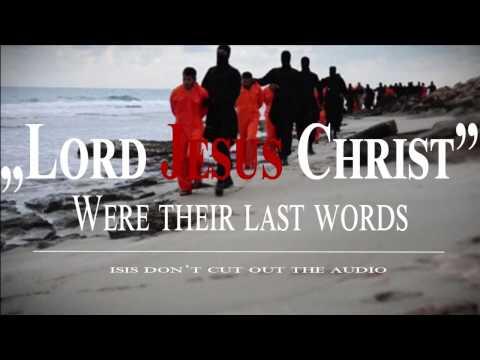 LAST WORDS LORD JESUS CHRIST