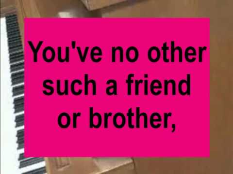 NO OTHER FRIEND