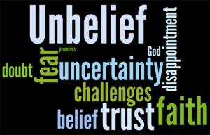 unbelief