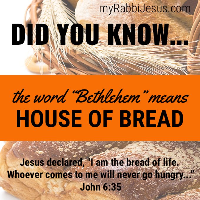 BREAD OF LIFE MY RABBI